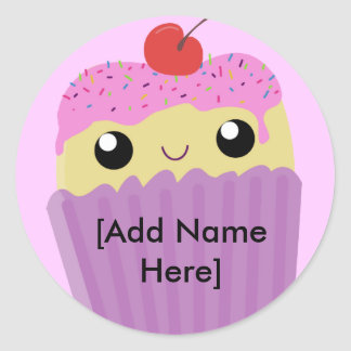 Cupcakes Fart Sprinkles Classic Round Sticker