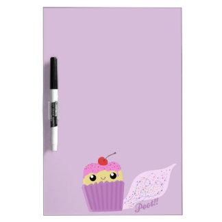 Cupcakes Fart Sprinkles Dry Erase Board