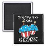 Cupcakes for Obama Refrigerator Magnet