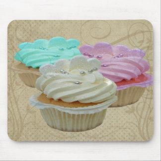 Cupcakes Grunge Mouse Mat