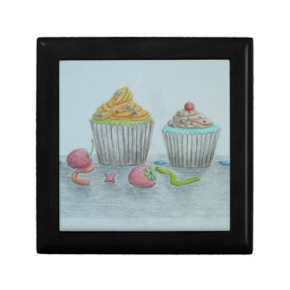 Cupcakes Jewelry Boxes