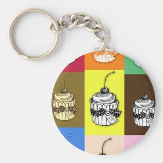 Cupcakes Key Ring
