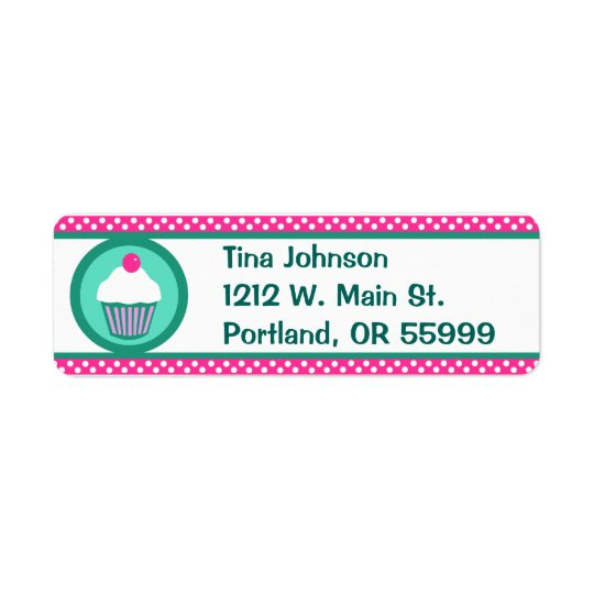 Cupcakes label