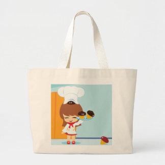 Cupcakes Large Tote Bag