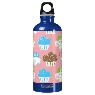 Cupcakes Liberty Bottle SIGG Traveller 0.6L Water Bottle