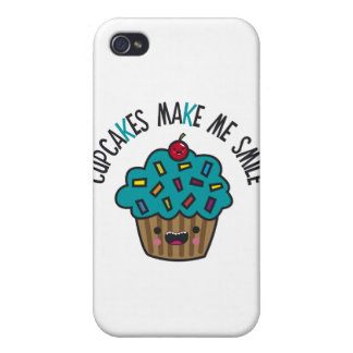 Cupcakes Make Me Smile iPhone 4/4S Cover