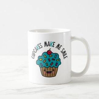 Cupcakes Make Me Smile Mugs