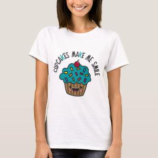 Cupcakes Make Me Smile T-Shirt