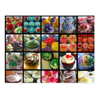 cupcakes postcard