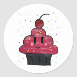 Cupcakes Round Stickers