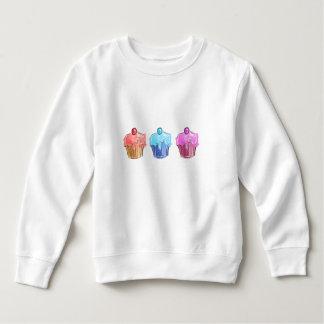 cupcakes Toddler Fleece Sweatshirt