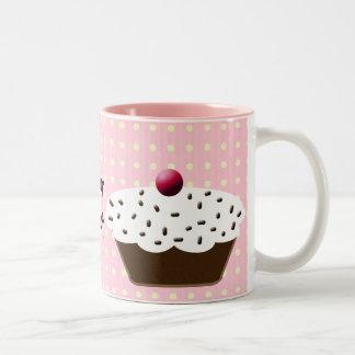 cupcakes Two-Tone mug