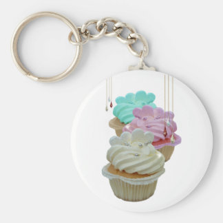Cupcakes with Bling! Key Ring