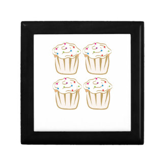 Cupcakes With Sprinkles Keepsake Box