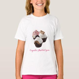 CupcakesAndIceCream Girls' Hanes TAGLESS® T-Shirt