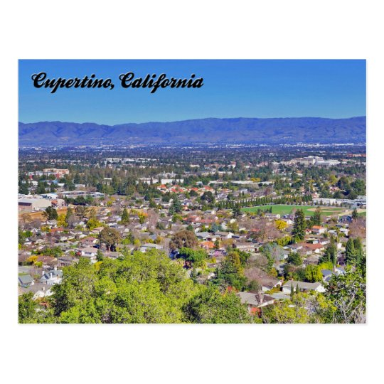 Cupertino, California Postcard