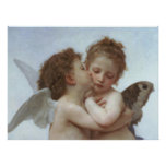 Cupid and Psyche as Children Poster