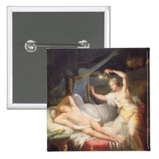 Cupid and Psyche 15 Cm Square Badge