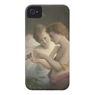 Cupid and Psyche iPhone 4 Case-Mate Cases