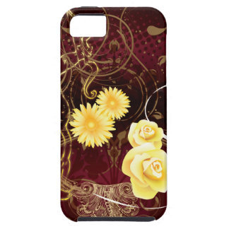 Cupid and Yellow Flowers iPhone 5 Covers