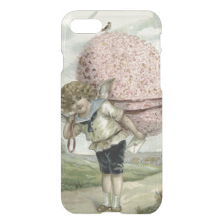 Cupid Angel Easter Egg Floral Flowers Bird iPhone 7 Case