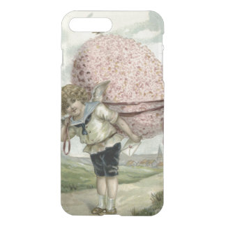 Cupid Angel Easter Egg Floral Flowers Bird iPhone 7 Plus Case