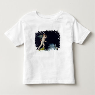 Cupid being led by a pair of swans (oil on panel) toddler T-Shirt
