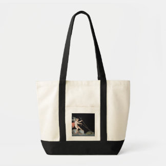Cupid being led by Tortoises (oil on panel) Impulse Tote Bag
