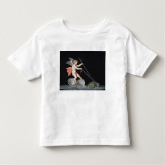 Cupid being led by Tortoises (oil on panel) Toddler T-Shirt