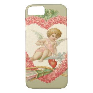 Cupid Bow Arrow Daisy Four Leaf Clover iPhone 7 Case