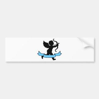 Cupid Bumper Sticker
