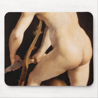Cupid Carving a Bow, 1533/34 Mouse Mat