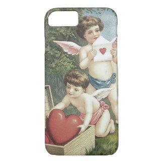 Cupid Cherub Angel Box Heart Valentine iPhone 7 Case