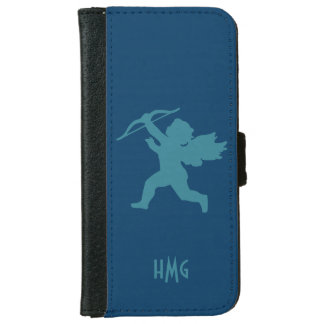 Cupid custom monogram wallet cases iPhone 6 wallet case
