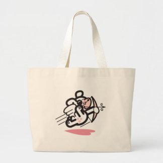 Cupid dog canvas bags