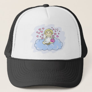 cupid-drunk with love trucker hat