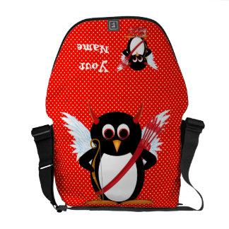 Cupid Evil Penguin Rickshaw Messenger Bag