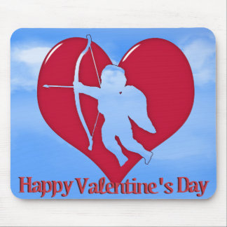Cupid for Valentine s Day Mousepad