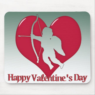 Cupid for Valentine s Day Mousepads