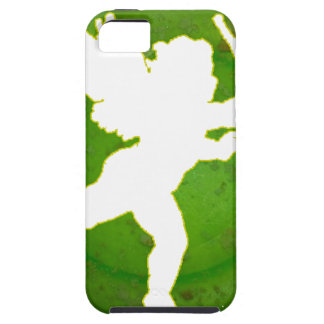 CUPID GREEN BACKGROUND PRODUCTS iPhone 5 COVERS