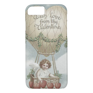 Cupid Heart Air Balloon Garland iPhone 7 Case