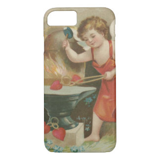 Cupid Heart Anvil Forget-Me-Not iPhone 7 Case