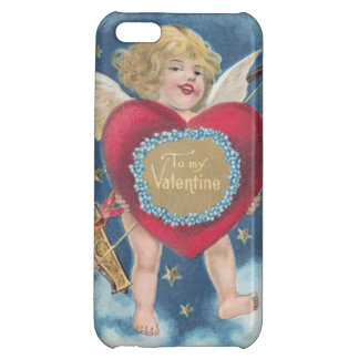 Cupid Heart Bow Arrow Stars Clouds Heavens iPhone 5C Cases