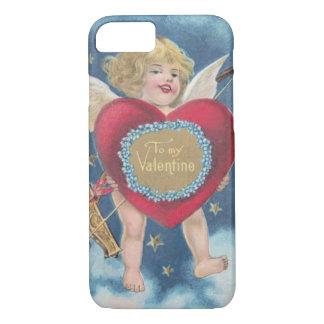 Cupid Heart Bow Arrow Stars Clouds Heavens iPhone 7 Case