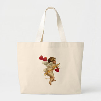Cupid Hearts On a String Tote Bag