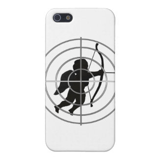 Cupid in Sight (Add your text) iPhone 5 Cover