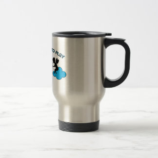 Cupid is Out to Play Stainless Steel Travel Mug