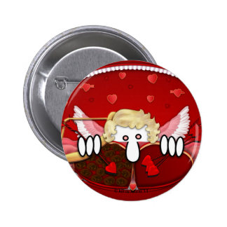 Cupid Kilroy Button
