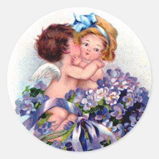 Cupid Kiss Sticker