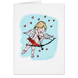 Cupid Love Card